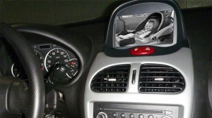 BBK100 In-car baby monitor for car dvd player