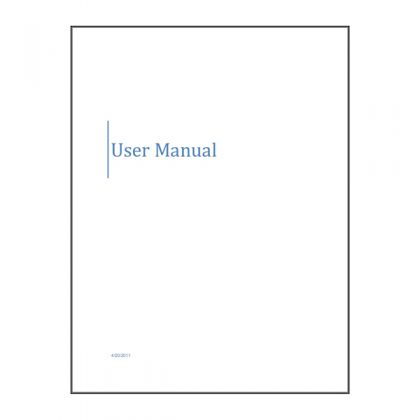 BS300 Manual