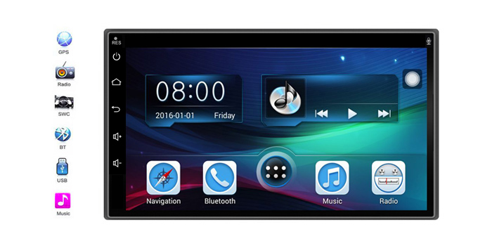 CE770 Car Radio Entertainment Bluetooth Navigation