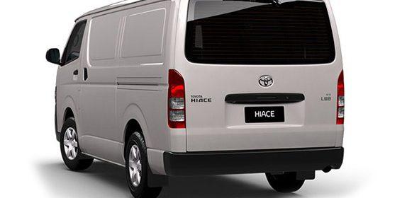 Toyota Hiace Power boot Kit